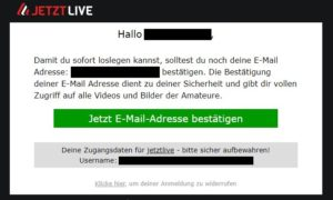 jetztlive email